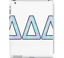Delta Delta Delta Sorority Sticker iPad Case/Skin