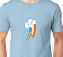 Rainbow Dash Cutie Mark (small icon) - My Little Pony Friendship is Magic Unisex T-Shirt