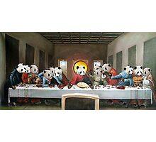 Panda's Last Supper Photographic Print