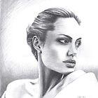 Angelina Jolie by Karen Bittkau