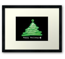 Merry Christmas and Happy Holidays! IT, Software Engineers, System Engineers, Hackers, Geeks  Framed Print