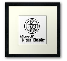 Ritual Basic Framed Print