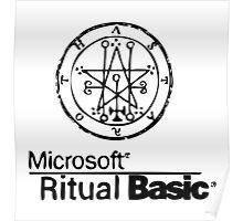 Ritual Basic Poster