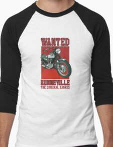 Triumph Bonneville Men's Baseball ¾ T-Shirt