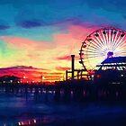 Sunset Opera at the Beach by David Rozansky