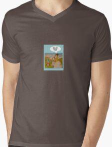 """Anti-""""Helicopter Parenting"""" for Survivor Mens V-Neck T-Shirt"""