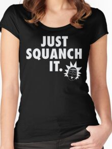 Just Squanch It Women's Fitted Scoop T-Shirt
