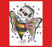 Bee Skull Kids Tee