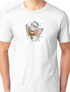 Bee Skull Unisex T-Shirt