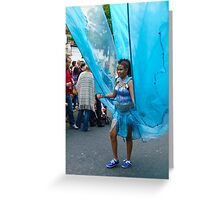 Notting Hill Carnival 2011 Greeting Card