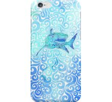 Swirly Shark iPhone Case/Skin