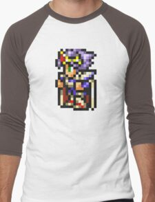 Cecil Harvey (PLD) sprite - FFRK - Final Fantasy IV (FF4) Men's Baseball ¾ T-Shirt