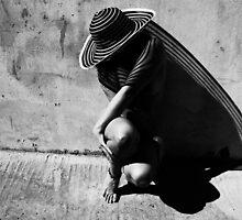 Bow of shadows by Angela  Kasalia