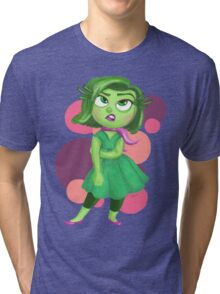 Disgust: Inside Out Tri-blend T-Shirt