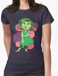 Disgust: Inside Out Womens Fitted T-Shirt
