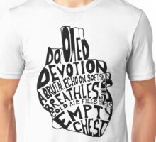 empty chest : anatomical heart  Unisex T-Shirt