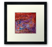 Vector Field Framed Print