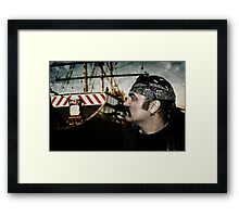 A sailors life..... Framed Print
