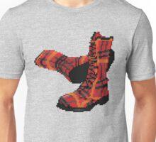 Rock Shoes - Pixel art Unisex T-Shirt