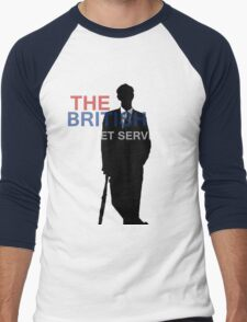 Mycroft Holmes- British Secret Service Men's Baseball ¾ T-Shirt