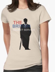 Mycroft Holmes- British Secret Service Womens Fitted T-Shirt