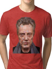 CHRISTOPHER WALKEN SUICIDE KINGS GRAPHIC ART PORTRAIT T SHIRT Tri-blend T-Shirt