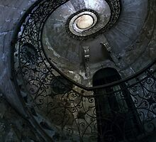 Forgotten Staircase by JBlaminsky