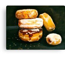 Sugar High...Doughnuts.. Canvas Print