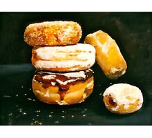 Sugar High...Doughnuts.. Photographic Print