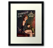 Twilight Gal Framed Print