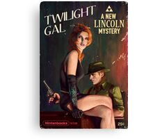 Twilight Gal Canvas Print
