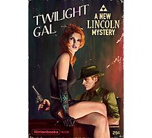 Twilight Gal Photographic Print