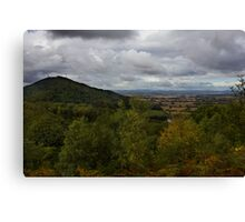 The Wrekin Viewed From The Ercall Canvas Print
