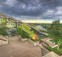 Shaw Conference Center HDR by Myron Watamaniuk