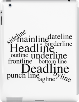 Journalistic Lines by Ron Marton