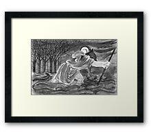 St. Christopher Carrying the Christ Child Framed Print