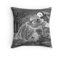 St. Christopher Carrying the Christ Child Throw Pillow
