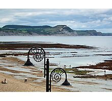 Low Tide At Lyme Regis Photographic Print