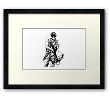 Daryl Dixon Walking Dead  Framed Print
