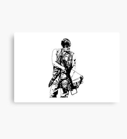 Daryl Dixon Walking Dead  Canvas Print