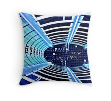 Cyber tron Throw Pillow
