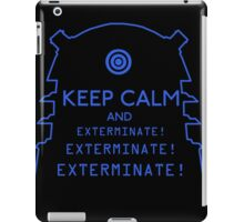 Keep Calm EXTERMINATE iPad Case/Skin