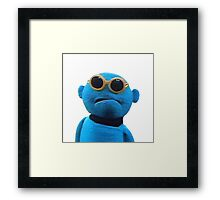 Blue Guy Framed Print