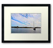 Prospect Bay, Nova Scotia Framed Print