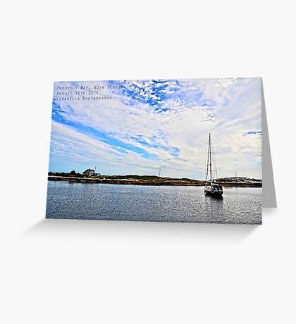 Prospect Bay, Nova Scotia Greeting Card