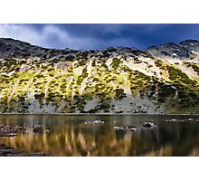 reflection in mountain lake Photographic Print