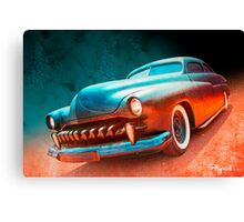 Blacktop Vampire Canvas Print