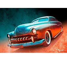 Blacktop Vampire Photographic Print