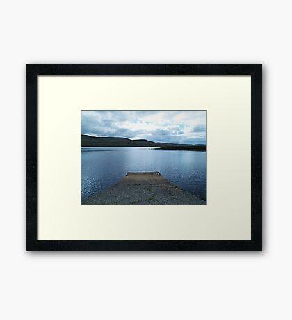 Lough Barra Framed Print