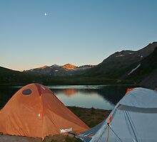 Camping out in the Tundra of Summit County by Roschetzky